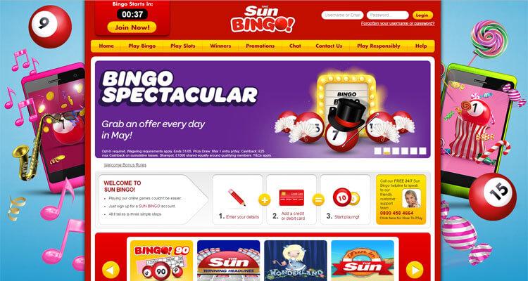 sun online bingo